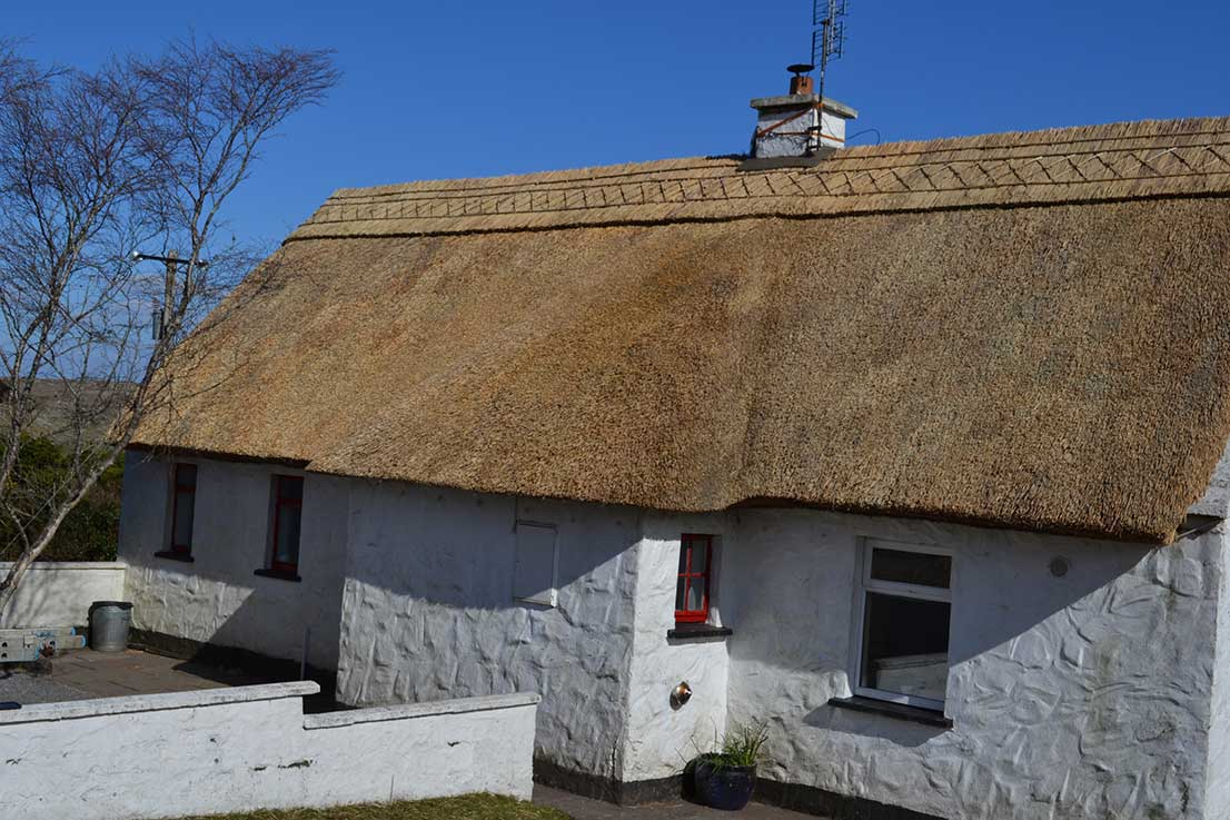west galway ronan finn thatched cottage