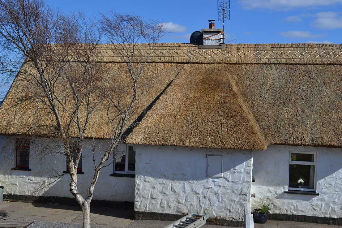connemara finn thatched cottage