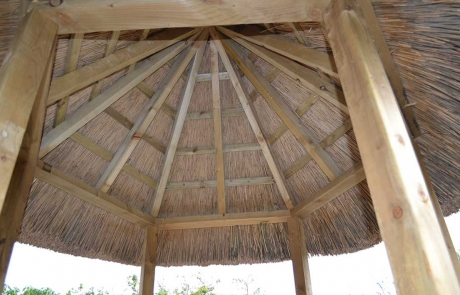 gazebo thatching and construction
