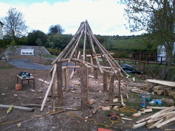Carpentry Services Galway Mayo Finn Thatching Services