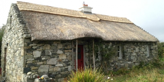 thatched cottage oranmore galway